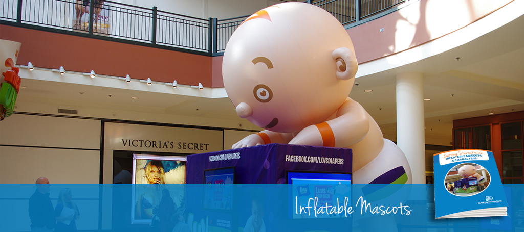 Giant Inflatable Mascots & Characters