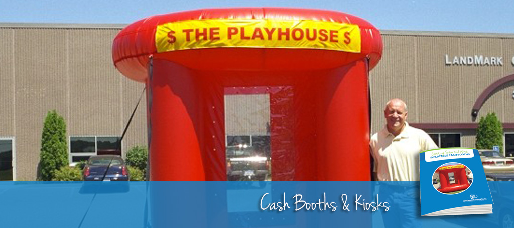 Inflatable Cash Booth